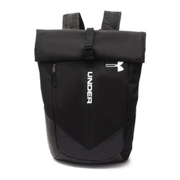 Wholesale Fashion Golf Bags - Fashion U & A Teenager Bag Men & Women's Backpack Casual Camping Adult Backpacks Waterproof Travel Outdoor Bags Black Fast Shipping