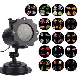 Wholesale Remote Control Patterns - Christmas Lights Projector 16PCS Pattern Waterproof Projector Landscape Lighting with Remote Control for Halloween Party Garden Decorations