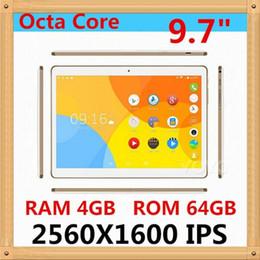2019 9,7 tavolette 4 g di octa nucleo All'ingrosso-2560 * 1600 IPS Tablet 9.7
