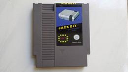 Wholesale Flash Cartridge - Free shipping jack diy nes game flash cartridge(72P)+4G sd