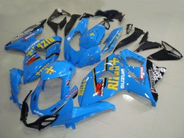 Kits de carenado rizla online-Kit de carenado de inyección para SUZUKI GSXR 1000 09 10 GSX-R 1000 K9 GSXR 2009 2010 azul RIZLA