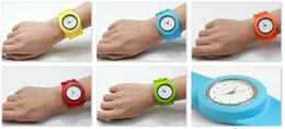 Wholesale Silicone Bag Watch - When volume Shu silicone ring pops watch 10pcs a bag, children and adolescents fun watches, fashion quartz watch multicolor