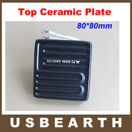 Wholesale Infrared Bga - 80*80mm 450W Infrared Top Upper Ceramic Heating Plate For BGA Station IR6000 IR6500 IR-PRO-SC