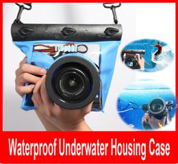 Bolsa de bolsa impermeable de la caja de la vivienda subacuática impermeable de la fotografía profesional de la bolsa para la cámara de Nikon Canon SLR DSLR desde fabricantes