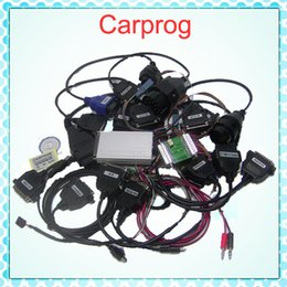 Wholesale Carprog Repair - 2015 Auto repair tool CarProg V7.28 21 adapter programmer car prog with all software's activated DHL free shipping