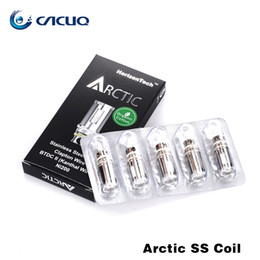 Wholesale Ecig Stainless - Ecig Atomizer Coil Replacement Original Horizon Arctic stainless steel ss coils 0.2ohm 0.5ohm For E Cigarette Vaporizer Tank Arctic VS