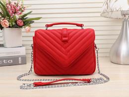 Tasarımcı çanta avrupa ve amerika birleşik devletleri en popüler tek omuz çantası kadın moda zincir postacı çantası kaliteli paket nereden