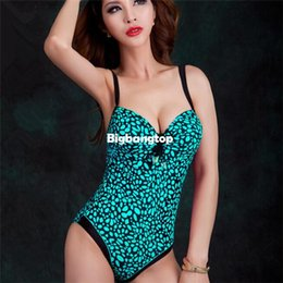 Wholesale Swimwear Steel Push Up Triangle - 1510 2015 Korean New Women Style Steel Proop Push Up One Piece Swimsuit Triangle Sexy Blackless Summer Beach Swimwear Suits 31048
