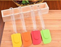 Wholesale Silica Gel Scraper - Wholesale- Hot-selling of baking utensils multicolour mini silica gel butter scraper - Medium