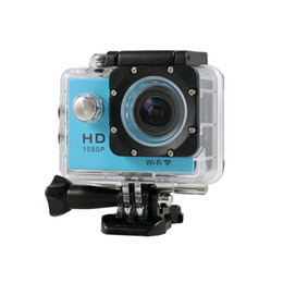Wholesale gopro wholesalers - Hot Sale WiFi Version SJ4000 WiFi 1080P Full HD GoPro Camera Style Extreme Sport DV Action Camera Diving 30M Waterproof +1pcs battery
