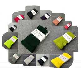 Wholesale Candy Coloured Children - Hot sale New fashion baby girls knit pantyhose, cotton Candy color Children Socks,girls socks,for 13 colours