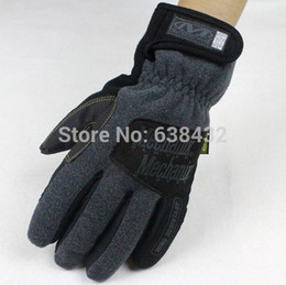 Wholesale Mpact Mechanix Wear Gloves - Wholesale-Free shipping Top quality Mechanix Wear MPact Tactical Coyote Race Work M-X gloves Full finger M-pack Gloves Grey Color