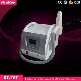 Wholesale Tattoos Removal Price - Best Price High Quality 1064nm&532nm Q-switched Nd Yag Laser Machine For All Colors Tattoo Removal Equipment