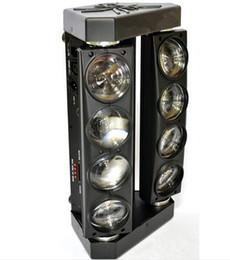2019 bewegliche kopfspinnenlichter Neue 8 * 10W LED's Spider Beam Moving Head Bühnenlicht günstig bewegliche kopfspinnenlichter