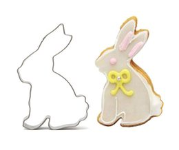Wholesale Mold Cutting Cookie - Wholesale- Mini Cake Decorating Tools,Stainless Steel Rabbit Of Type Fondant Cut-Out Candy Biscuit Cookie Cutters Mold