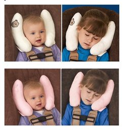 Wholesale Neck Rests For Children - For baby Cushion Head Neck Rest Pillow for Car   Baby Buggy, Comfortable Headrest Neck Seat Covers, for Children Kids Protection