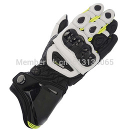 Wholesale New Gp Pro Gloves - Wholesale-Free Shipping ! NEW 2015 GP PRO Gloves Leahter Motorcycle Racing Gloves Motocross Motorbike Leather Luvas red,yellow