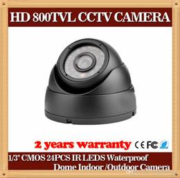 Wholesale Dome Ir Housing - CIA- Plastic House 1 3'' Color CMOS Mini Camera HD Camera 800TVL Dome Camera 24 IR LED Day Night Indoor Security Camera CCTV