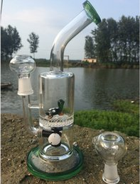 Wholesale fancy types - Oil rigs bubbler percolatr water pipes smoking pipes water pipe for sale fancy style animal glass bongs