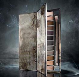 качество aaaa Скидка Самый новый макияж AAAA качества Макияж NUDE Smoky Palette 12 Цветовая палитра Eyeshadow 12 * 1,3 г бесплатная доставка DHL FREE
