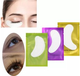 Wholesale Lint Free Eye Pads Wholesale - Thin Hydrogel Eye Patch for Eyelash Extension Under Eye Patches Lint Free Gel Pads Moisture Eye Mask 5000Pcs