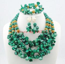 Wholesale Wedding Jewery - Nigerian Wedding Beads Jewery Set African Red Coral Beads Jewelry Set 2016 New Bridal Jewelry Best Selling Free Shipping HD303-1