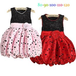 c7ac31027bd1 Summer Hot girl Polka Dot dress princess skirt baby flowers skirt Top Party  Dress cute girls dress Children s Dresses C001