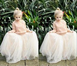 Wholesale Baby Girl Xs - 2016 Lovely Baby Girls Tulle Skirts White Princess Tutu Ball Gown Flower Girl Party Dresses For Wedding Cheap Children's Long Skirts