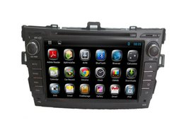 """Wholesale Dvd For Toyota Corolla - 8"""" digital panel dual core android system two din car DVD player for TOYOTA COROLLA EX2006-2011"""