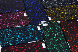 Wholesale Iphone Ultrathin Case Frosted - New Starry Sky Glitter Star Magic 3D Ultrathin Frosted Back Cover Hard Matte Plastic PC Case for Apple iPhone 6 4.7 Plus 5.5