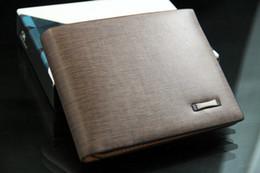Wholesale Leopard Credit Card Holder - 2016 New Brand Designer Fashion Leopard Men Leather Purse Soft Men's Pockets Credit Cards bag Clutch Wallet Mens wallets QB375 Free shipping