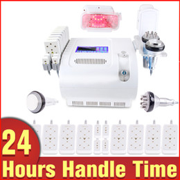 Wholesale Cold Laser Equipment - High Technology Fat Freezing Cooling Weight Loss Cavitation Sextupole Diode Lipo Laser Cold Treatment Slimming Equipment
