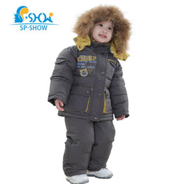 Wholesale White Coat Suit For Boys - Winter Reima Luxury Brand Kids Hooded Two Piece Children Jackets Boys& Girls Suit Set For 2-6 Age Snow Suit Down & Parkas 9113