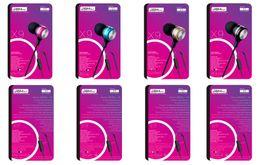 Wholesale Pink Mp3 Mp4 Mp5 - 1PCS metal bass Earphone for MP3 MP4 MP5 cell phone PC Earbuds Headphone bass metal earphone JBM X9 free shipping