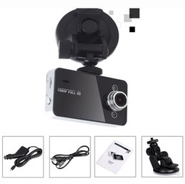Wholesale Recorder Fhd - 2015 New arrival Free shipping K6000 Car Camera Car Video Recorder FHD 1920*1080P 25FPS 2.4inch TFT Screen with G-sensor Registrator Car DVR