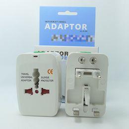 Wholesale Ac Adapter Extension - Global Universal AC Power Converter Adapter Plug EU US UK AU Extension International World Travel Adaptor