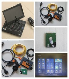 Wholesale Icom Software Hdd - For Bmw Isis Isid icom a2 Professional diagnostic tool for bmw icom a2 b c with Laptop X200t Installed 2017.07 Software HDD
