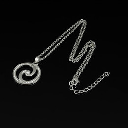 Wholesale Yin Yang Pendant Wholesalers - Online Cheap Magnetic Clear Crystal Circle Design Yin And Yang Pendant Necklace For Men and Women