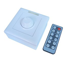 Wholesale Ir Remote Control Switch - 12-24V-8A IR 12Keys Remote PWM LED Light Dimmer Switch Brightness Control For 3528 5050 2835 LED Strip