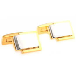 Wholesale Antiqued Copper - Premier antiqued gold silver bottom surface M Ms. French shirt cuff cufflinks cuff nail 164,059 MTS