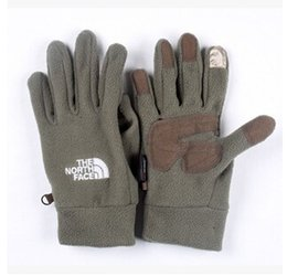 Wholesale Gloves Glove - Wholesale-2015 men and women outdoor sports warm touch gloves