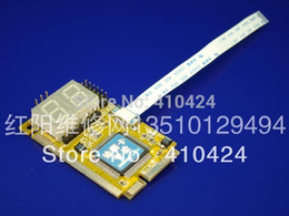 Wholesale Post Lpc - Free shipping (5 pieces lot) Multifunction 5 IN 1 PCI-E, PCI, LPC, I2C, ELPC diagnostic post tester card For Laptop order<$18no track