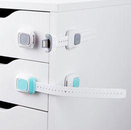 Wholesale Baby Cupboard Locks - Baby Safety Security Lock Infant Child Drawer Cabinet Cupboard Refrigerator Door Toilet Lock Security Locks OOA3426