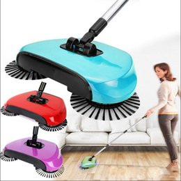 mango mágico Rebajas Mano empujar la máquina de barrido Magic Broom Dustpan Handle Household Aspirador Hand Push Sweeper Floor Robotic OOA3353