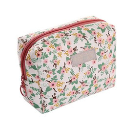 Wholesale Hand Portable - Cosmetic bag simple ladies mini wash bag waterproof trumpet portable hand-held travel storage bag