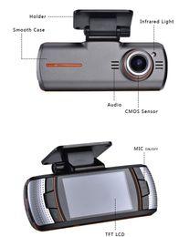 Wholesale Dual Dvr External - DHL Free Car DVRS Dual Camera lens1920x1080p 20FPS 2.7' LCD External IR Rear Camera Allwinner Dashcam Car DVR Original ls650W