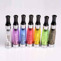 Wholesale Ego C Clearomizers - 8 Colors EGO CE4 Clearomizers For Electronic Cigarette Ego-t Ego-c Ego-w 510 CE4 Atomizer