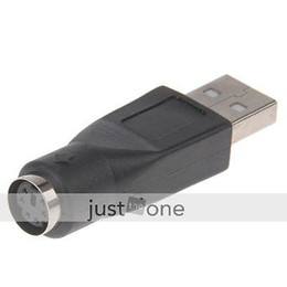 Wholesale Ps Computers - USB to PS 2 PS   2 Adapter Converter for Computer PC
