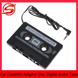 Wholesale Digital Mini Car Mp3 Player - mini Digital Audio Car amplifier Disc Tape for iPod MP3 CD car mps3 Player with standard 3.5mm audio sock CEC_809