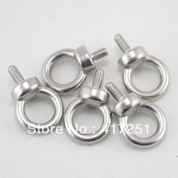 Wholesale Bolt Grades - 5pcs Marine Grade Boat Stainless Steel Lifting Eyes Bolts M6 Metric Threaded order<$18no track